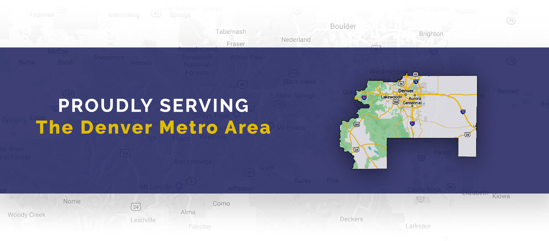 The Denver Metro Area