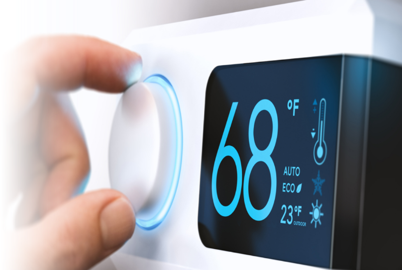changing the AC thermostat